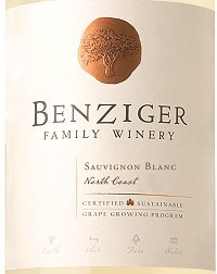 Benzinger Family Winery Sauvignon Blanc 19.5L Sixtel