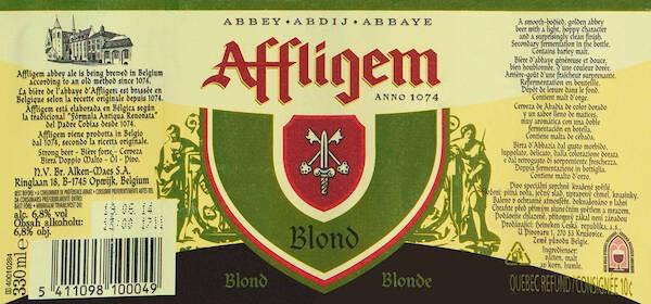Affligem Blond Sixtel Keg 5.16 Gal