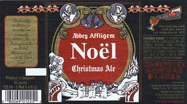 Affligem Noel Christmas Abbey Ale Sixtel Keg 5.16 Gal
