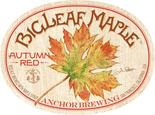 Anchor Bigleaf Maple Autumn Red Full Keg 15.5 Gal