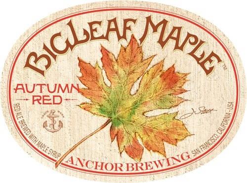 Anchor Bigleaf Maple Autumn Red Full Keg 15.5 Gal