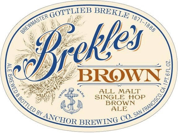 Anchor Brekle's Brown Ale Full Keg 15.5 Gal