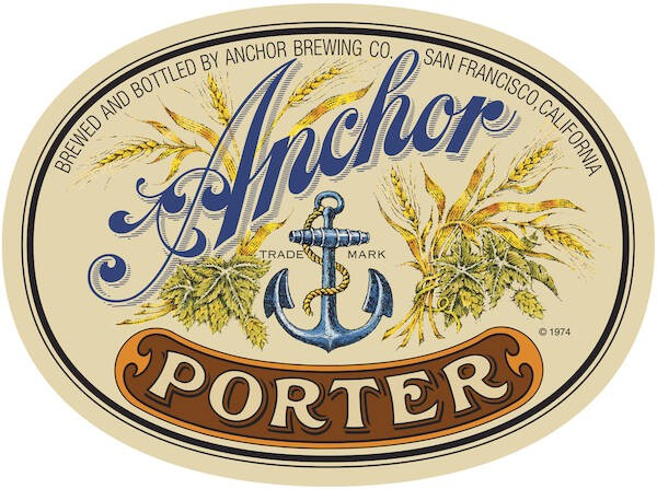 Anchor Porter Full Keg 15.5 Gal