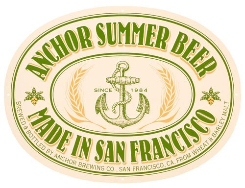 Anchor Summer Beer Full Keg 15.5 Gal