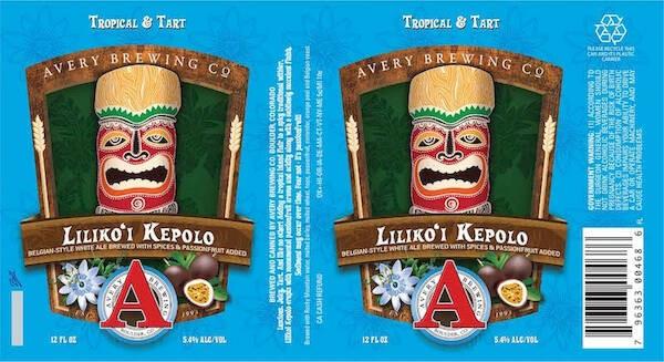 Avery Liliko 'i Kepolo sixtel Keg 5.16 Gal