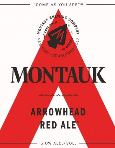 Montauk Arrowhead Winter Red Ale 20 Liters Sixtel Keg