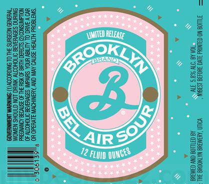 Brooklyn Bel Air Hopped Sour Ale  5.16 Gal Sixtel