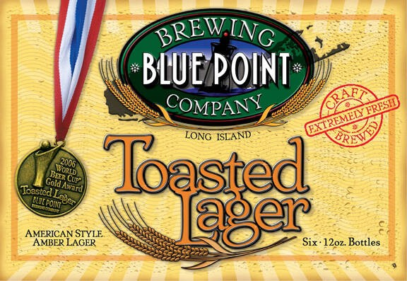 Blue Point Toasted Lager Full Keg 15.5 Gal