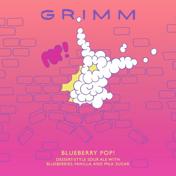 Grimm Blueberry Pop! 5.16 Gal Sixtel