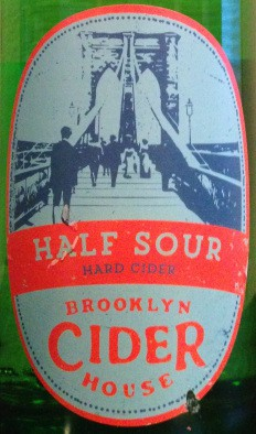 Brooklyn Cider House Half Sour Cider 5.16 Gal Sixtel