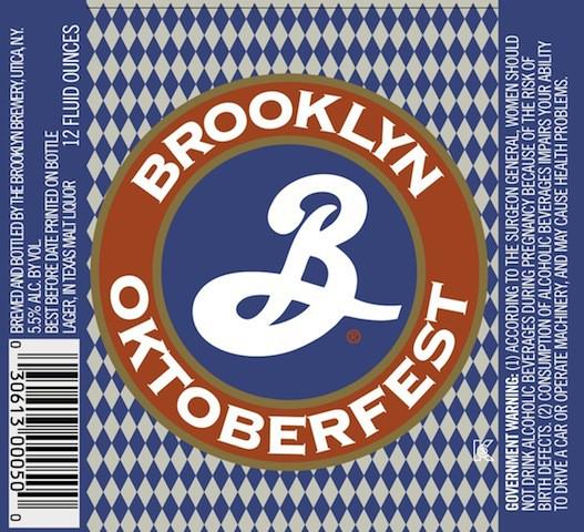 Brooklyn Oktoberfest 5.16 Gal Sixtel