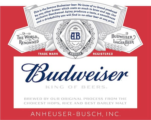 Budweiser Full Keg 15.5 Gal