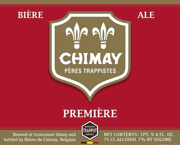 Chimay Premiership Imported 20ltr Keg