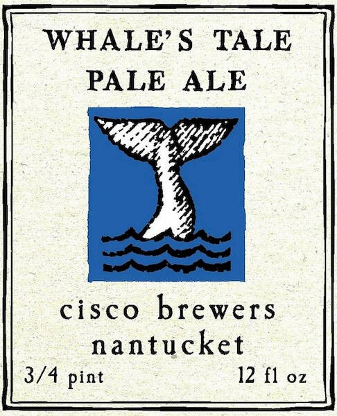 Cisco Whale Tale Pale Ale Sixtel Keg 5.16 Gal
