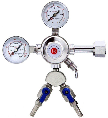 CO2 Regulator - Dual Output
