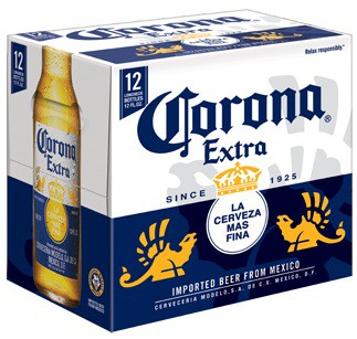 Corona Extra Bottles 12oz - 24 Pack