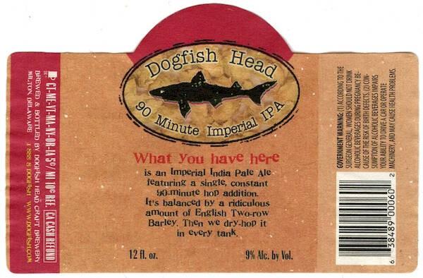 Dogfish 90 Minute IPA Sixtel Keg 5.16 Gal