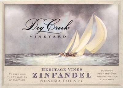 Dry Creek Vineyard Zinfandel Heritage Vines 19.5 Liters