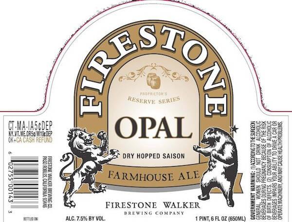 Firestone Opal Sixtel Keg 5.16 Gal