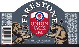 Firestone Union Jack IPA Sixtel Keg 5.16 Gal