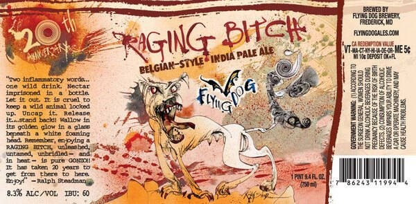 Flying Dog Raging Bitch Sixtel Keg 5.16 Gal