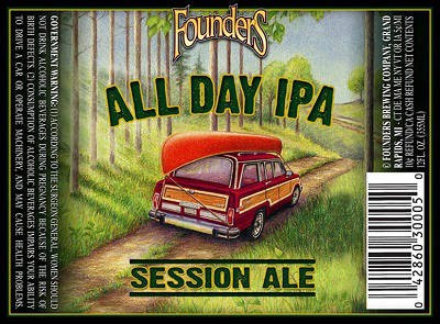 Founder's All day IPA Quarter Keg 7.75 Gal