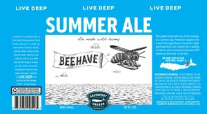 Greenport Brewing Summer Ale Sixtel Keg - 5.16 Gal