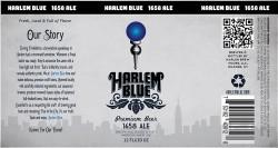 Harlem Blue 1658 Ale Sixtel Keg 5.16 Gal