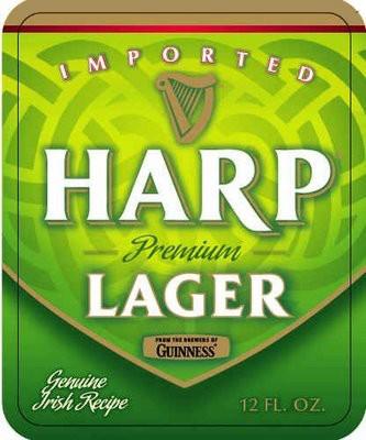 Harp Lager Full Keg 15.5 Gal