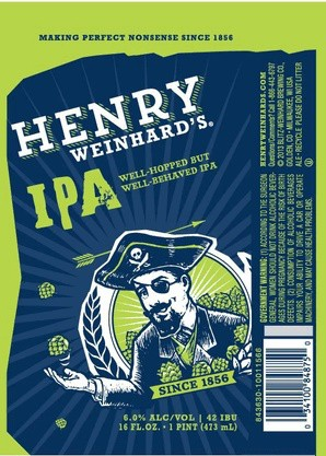 Henry Weinhard's IPA Full Keg
