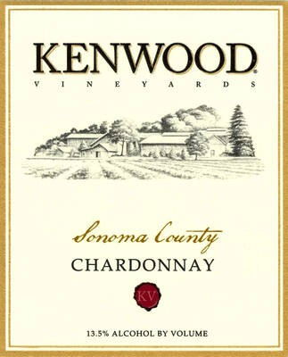 Kenwood Chardonnay Sonoma County 19.5 Liters