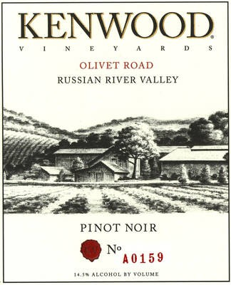 Kenwood Pinot Noir Russian River Valley 19.5 Liters