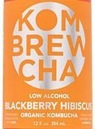 KomBrewCha Blackberry Hibiscus Kombucha Sixtel Keg 5.16 Gal