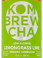 KomBrewCha Lemongrass Lime Kombucha Sixtel Keg 5.16 Gal