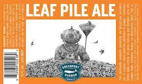 "Greenport Brew ""Leaf Pile"" Pumpkin Fall Ale Sixtel Keg - 5.16 Gal"