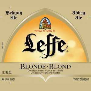 Leffe Blonde Belgian 12oz - 24 Bottles