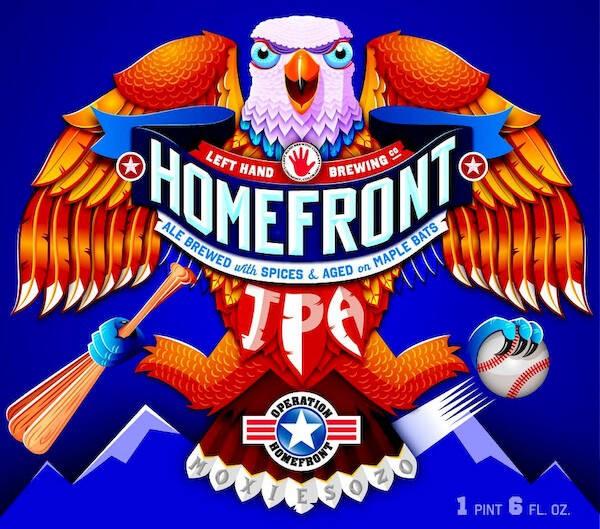 Left Hand Homefront IPA Sixtel Keg 5.16 Gal