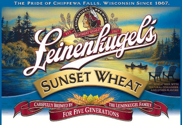 Leinenkugel Sunset Wheat Full Keg 15.5 Gal