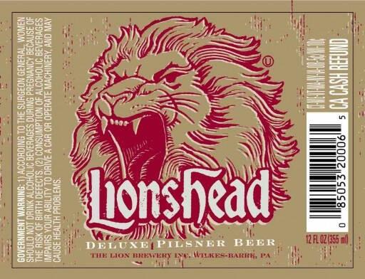 Lionshead PILS Full Keg 15.5 Gal