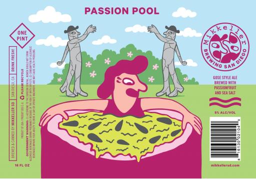 Mikkeller Passion Pool Gose 5.16 Gal Sixtel