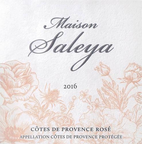 Maison Saleya Cotes de Provence Rose