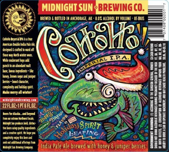 Midnight Sun Cohoho Imperial IPA Sixtel Keg 5.16 Gal