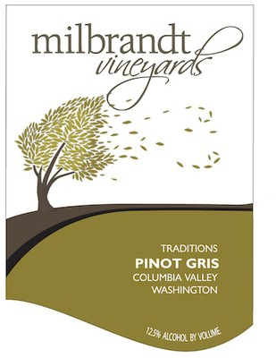 Milbrandt Vineyards Pinot Gris Traditions 20 Liters