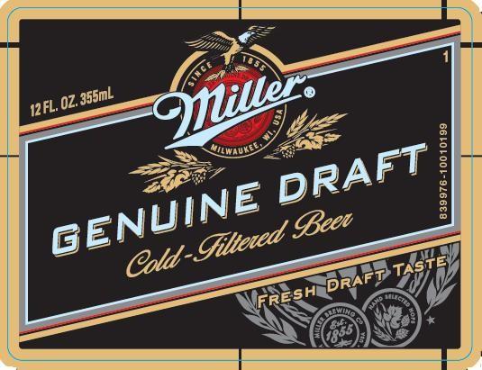 Miller Genuine Draft Full Keg 15.5 Gal