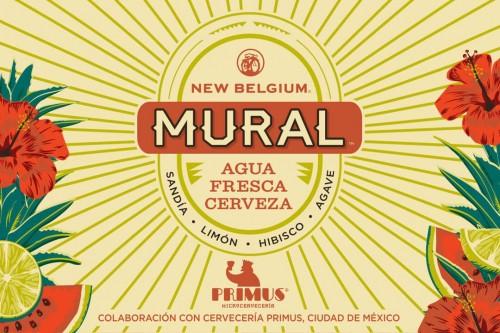 New Belgium Agua Fresca Cerveza 5.16 Gal Sixtel