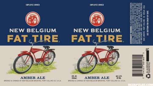 New Belgium Fat Tire Amber Ale 15.5 Gal