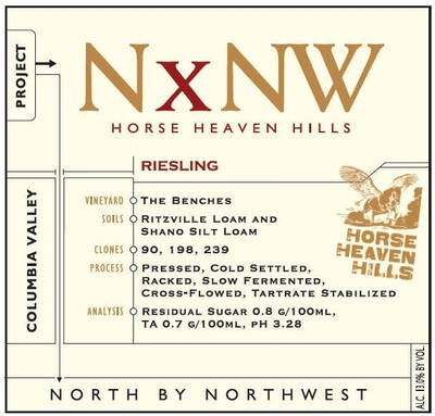 Nxnw - North By Northwest Riesling 19.5 Liters