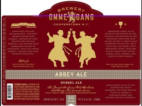 Ommegang Abbey Ale Sixtel Keg 5.16 Gal