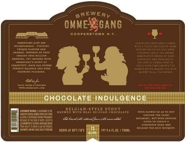Ommegang Chocolate Indulgence Stout Sixtel Keg 5.16 Gal
