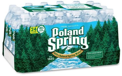Poland Spring 16.9oz/500ml 24-Pack Bottles